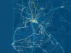 Light Rail map. Graphic form Scott Ludlam