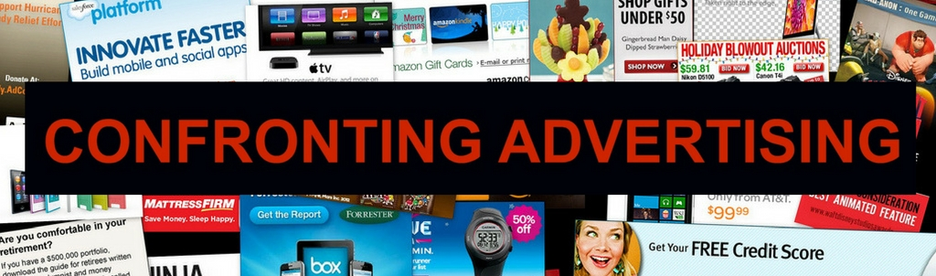 CONFRONTING ADVERTISING