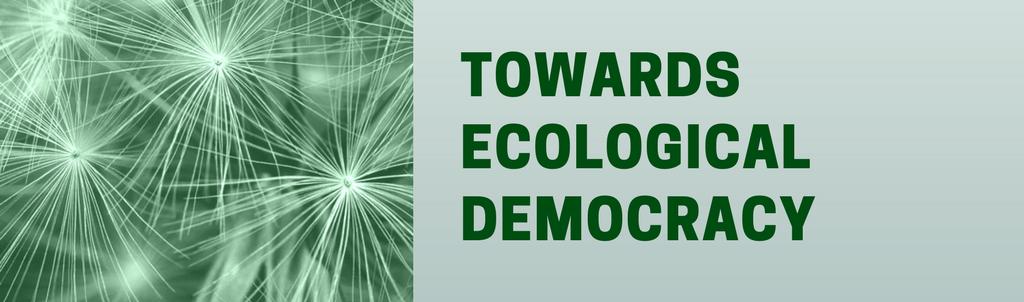 Green Agenda | Towards Ecological Democracy