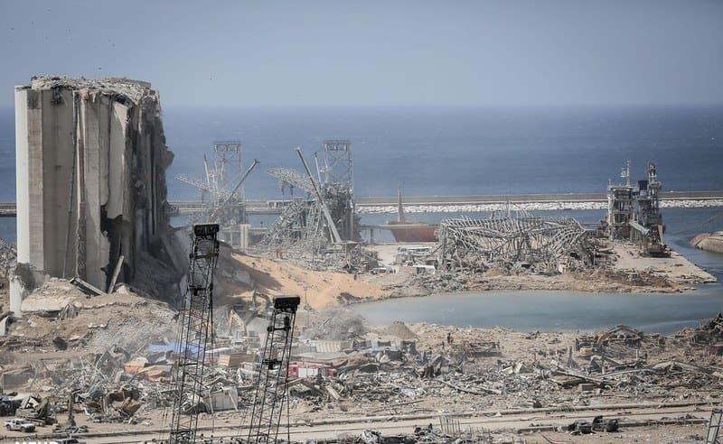 Beirut Burning - Lebanon Explosion