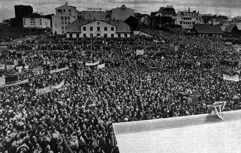 Without the right to stop work, all our rights are at risk - Iceland women's strike 1975