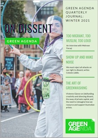 On Dissent - Green Agenda Quarterly Journal Winter 2021